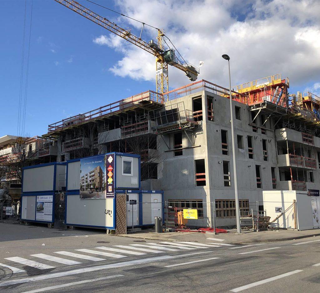 Appartement loi pinel à Echirolles par KP Habitat