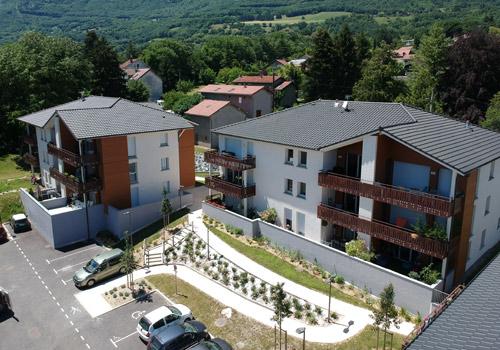 Le Domaine Saint Michel à Claix 38 , Programme KP Habitat